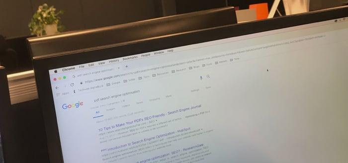 Øk synligheten på PDF-dokumenter med søkemotoroptimalisering